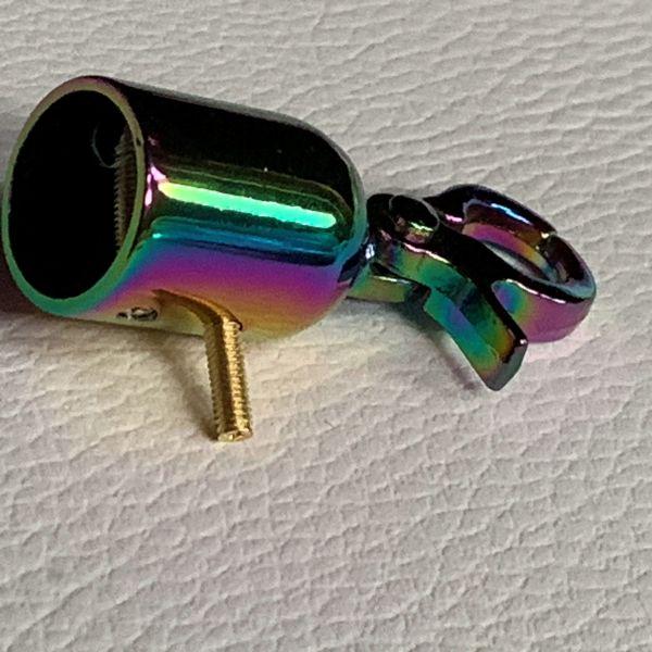RegenbogenQuasten karabiner 25 mm