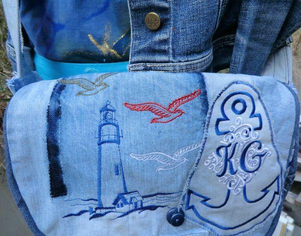 Tasche maritim KG mit LOXX