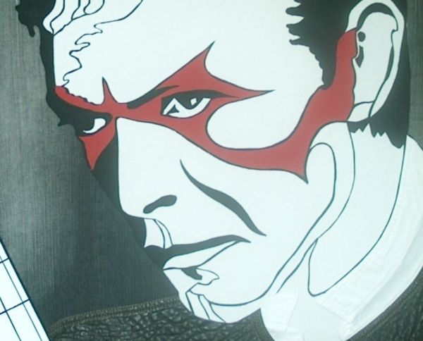 David Bowie schwarz