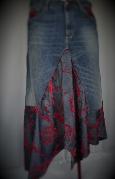 Rock upcycling Jeans