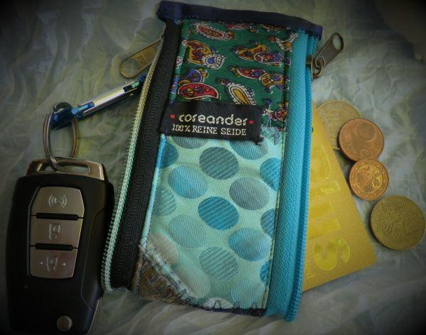 Mini 2 in 1 Patchworktasche aus Seide