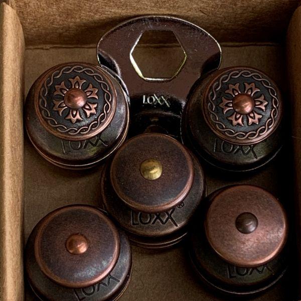 LOXX®-BOX 5* altkupfer