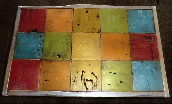 Beistelltischplatte mit Inka Gold