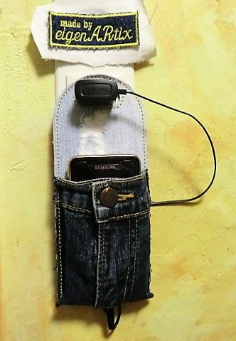Handy Ladetasche Jeans