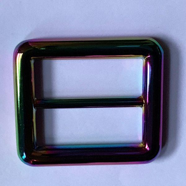 Regenbogenschnalle 35/25mm