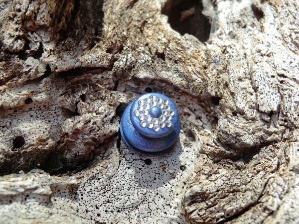 EDELLOXX SCHLUMPFINE & 24 kristallkare Swarovski